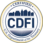 Certified CDFI by the U.S. Department of the Treasury