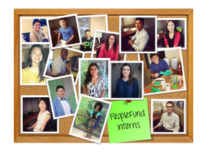 Intern Corkboard 2014