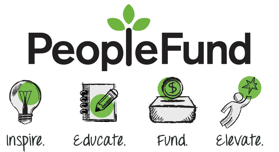 PeopleFund inspire educate fund elevate trans bg