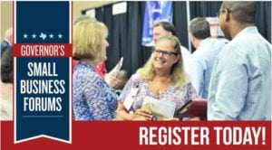 Governor's Small Business Forum: Wichita Falls @ Multi-Purpose Event Center | Wichita Falls | Texas | United States